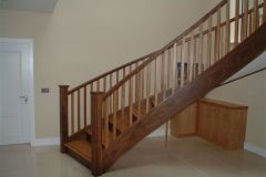 Curved Staircase design from Clonmines Joinery Ltd