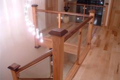 Glass and Staircase design from Clonmines Joinery Ltd