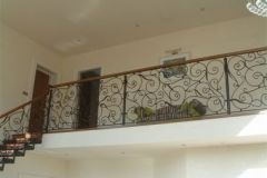 Wrought Iron Staircase design from Clonmines Joinery Ltd