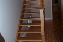 Straight Stairs by Clonmines Joinery Ltd